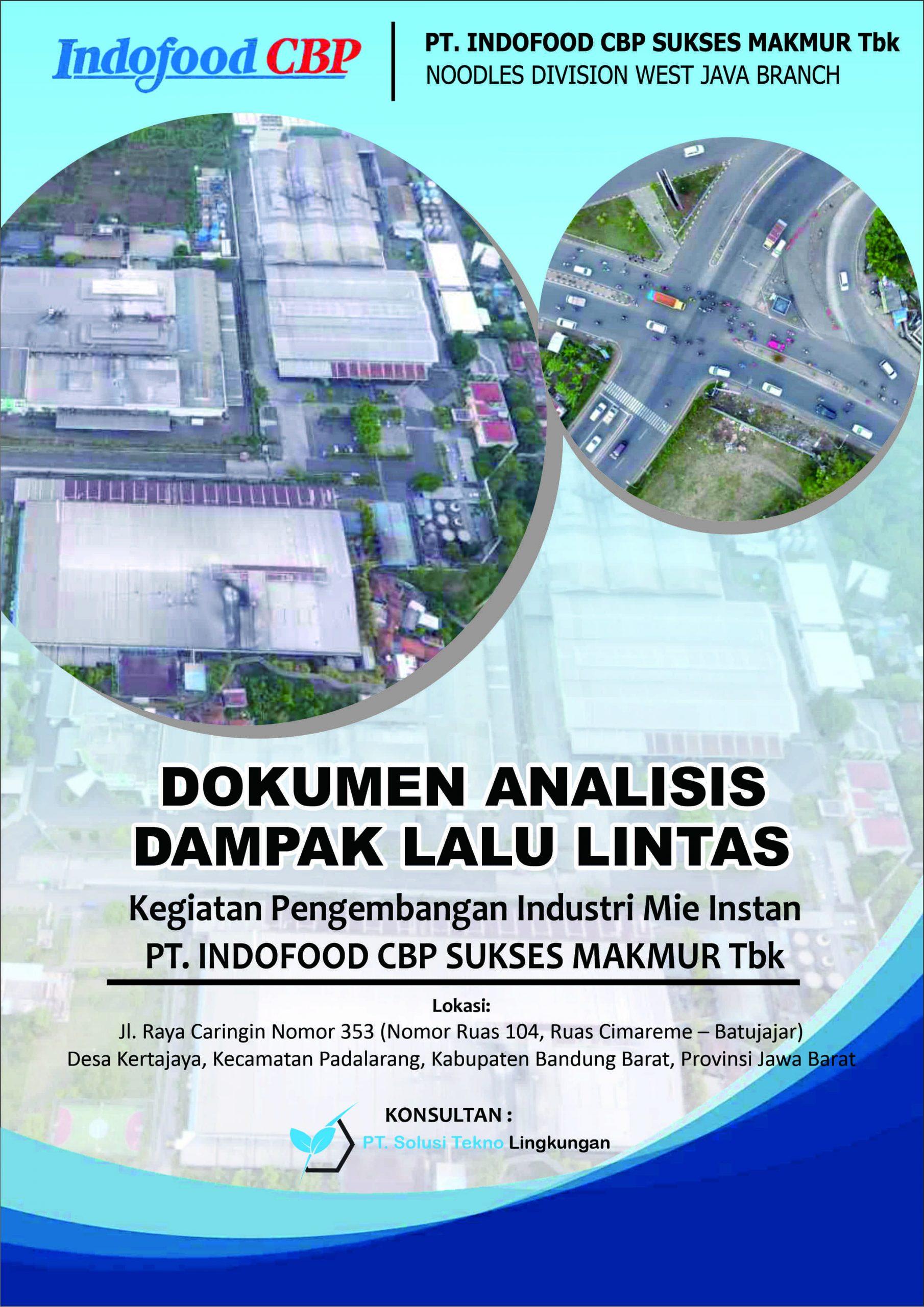 ANDALALIN PT. Indofood CBP Sukses Makmur Tbk. Divisi Noodle Cabang Bandung